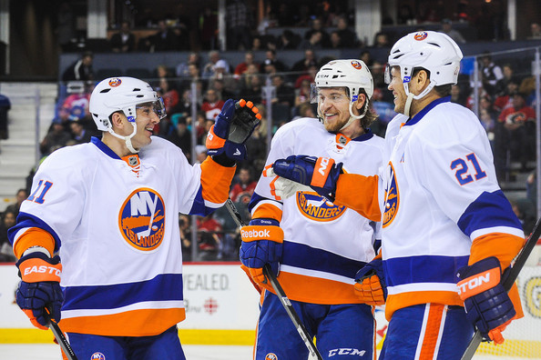 New York Islanders v Calgary Flames