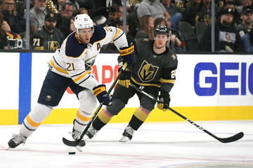Kyle Okposo Buffalo Sabres vs. Vegas Golden Knights