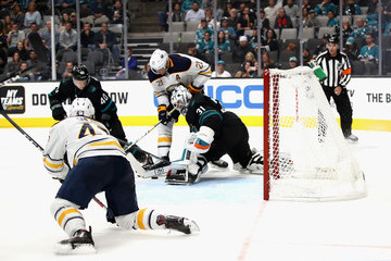 Kyle Okposo Buffalo Sabres vs. San Jose Sharks