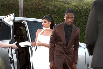 Kylie Jenner Travis Scott: 'Look Mom I Can Fly' Los Angeles Premiere