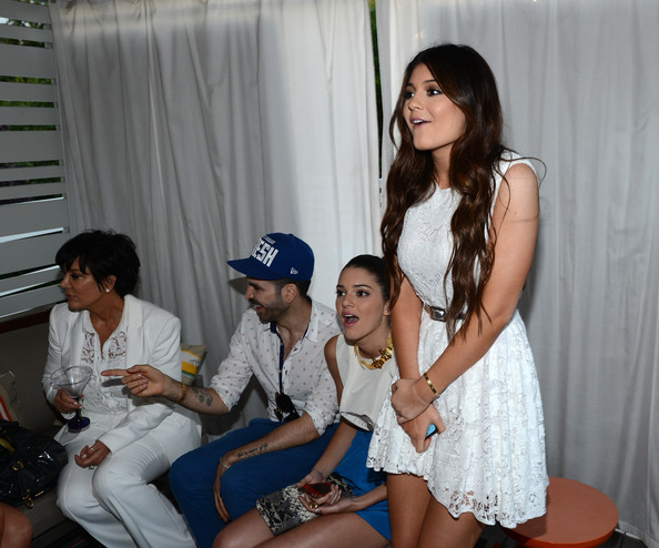 Kylie And Kendall Jenner 2012