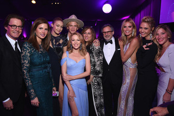 Kylie Minogue Inside the Elton John AIDS Foundation Oscars Viewing Party — Part 2