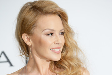 Kylie Minogue Arrivals at the Cinema Against AIDS Gala