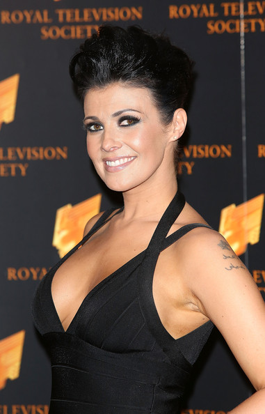 Kym Marsh Attends The Rts Programme Awards At Grosvenor