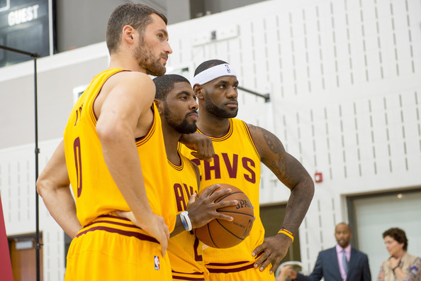 Kyrie Irving - Cleveland Cavaliers Media Day