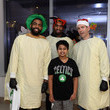 Kyrie Irving Boston Celtics Spread Holiday Cheer By Caroling And Crafting With Patients At Boston Children's Hospital