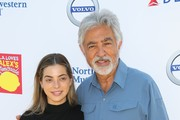 Gia Mantegna and Joe Mantegna attend L.A. Loves Alex's Lemonade 2019 at UCLA Royce Quad on September 14, 2019 in Los Angeles, California.