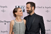 Natalie Portman and Benjamin Millepied attend L.A. Dance Project's Annual Gala at Hauser & Wirth on October 19, 2019 in Los Angeles, California.