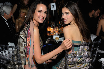 Andie MacDowell Sarah Margaret Qualley L'Oreal Legends Gala To Benefit Ovarian Cancer Research Fund