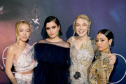 "(L-R) Sydney Sweeney, Barbie Ferreira, Hunter Schafer, and Alexa Demie attend the LA Premiere of HBO's ""Euphoria"" at The Cinerama Dome on June 04, 2019 in Los Angeles, California."