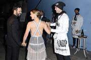 Benjamin Millepied and Natalie Portman attend LA Dance Project's 2019 Fundraising Gala on October 19, 2019 in Los Angeles, California.