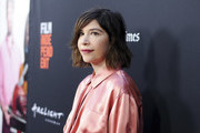 Carrie Brownstein attends LA Film Festival World Premiere Gala Screening Of THE OATH on September 25, 2018 in Los Angeles, California.