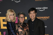 """Judith Light, Jill Soloway and Albert Cheng arrive at the LA Premiere Of Amazon's """"Transparent Musicale Finale"""" at Regal LA Live on September 13, 2019 in Los Angeles, California."""