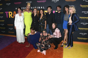 """Gaby Hoffmann, Shakina Nayfack, Gina Kwon, Albert Cheng, Jay Duplass, Amy Landecker, Judith Light, Alexandra Billings, Jill Soloway and Trace Lysette arrives at the LA Premiere Of Amazon's """"Transparent Musicale Finale"""" at Regal LA Live on September 13, 2019 in Los Angeles, California."""