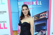 "Alicia Coppola attends the LA Premiere of CBS All Access' ""Why Women Kill"" at Wallis Annenberg Center for the Performing Arts on August 07, 2019 in Beverly Hills, California."