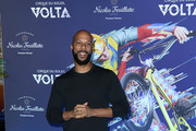 "Common attends the LA Premiere Of Cirque Du Soleil's ""Volta"" at Dodger Stadium on January 21, 2020 in Los Angeles, California."