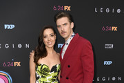 Dan Stevens and Aubrey Plaza Photos Photo
