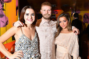 """Kiernan Shipka, Luke Snellin and Isabela Moner attend the after party for Netflix's """"Let It Snow"""" at Swingers on November 04, 2019 in Los Angeles, California."""