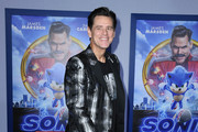 "Jim Carrey attends the LA special screening of Paramount's ""Sonic The Hedgehog"" at Regency Village Theatre on February 12, 2020 in Westwood, California."