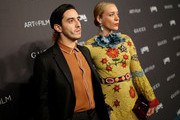 Director Ricky Saiz (L) and actress Chloe Sevigny attend LACMA 2015 Art+Film Gala Honoring James Turrell and Alejandro G Iñárritu, Presented by Gucci at LACMA on November 7, 2015 in Los Angeles, California.