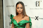 Karrueche Tran attends LG Signature at the American Ballet Theatre Fall Gala 2019 on October 16, 2019 in New York City.