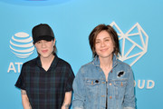 Sara Quin and Tegan Qiun attend LOVELOUD Festival 2019 Powered by AT&T at USANA Amphitheatre on June 29, 2019 in West Valley City, Utah.