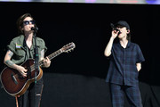 Tegan and Sara perform at LOVELOUD Festival 2019 Powered by AT&T at USANA Amphitheatre on June 29, 2019 in West Valley City, Utah.