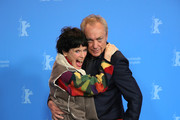 """(L-R) Geraldine Chaplin and Udo Kier pose at the """"La Fiera Y La Fiesta"""" (Holy Beasts) photocall during the 69th Berlinale International Film Festival Berlin at Grand Hyatt Hotel on February 13, 2019 in Berlin, Germany."""