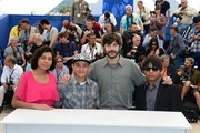 (L-R) Actress Karen Martinez, actor Brandon Lopez, director Diego Quemada-Diez and actor Rodolfo Dominguez attends the 'La Jaula De Oro' Photocall during the 66th Annual Cannes Film Festival on May 22, 2013 in Cannes, France.