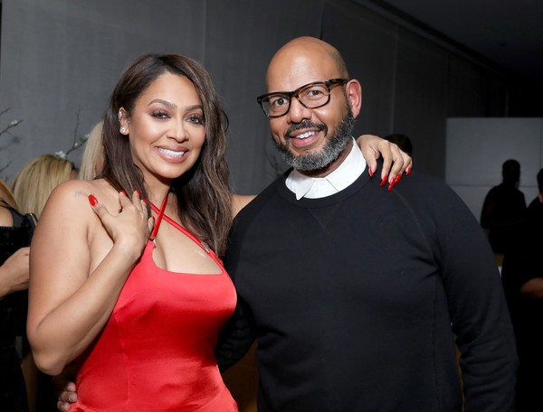 Howard University & La La Anthony Pre-Grammy Party [red,eyewear,event,fashion,fun,party,glasses,photography,formal wear,room,la la anthony,emil wilbekin,new york city,howard university,l,la la anthony pre-grammy party]