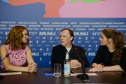 (L-R) Actress Lea Seydoux, director Christophe Gans and actress Yvonne Catterfeld attend the 'La belle et la bete' (Die Schoene und das Biest) press conference during 64th Berlinale International Film Festival at Grand Hyatt Hotel on February 14, 2014 in Berlin, Germany.