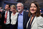 Jeremy Corbyn (2nd R) is announced as the new leader of the Labour Party at the Queen Elizabeth II conference centre on September 12, 2015 in London, England. Mr Corbyn was announced as the new Labour leader today following three months of campaigning against fellow candidates ministers Yvette Cooper (2nd L) and Andy Burnham (L) and shadow minister Liz Kendall (R). The leadership contest comes after Ed Miliband's resignation following the general election defeat in May.