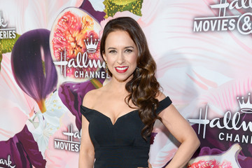 Lacey Chabert Hallmark Channel and Hallmark Movies and Mysteries Winter 2018 TCA Press Tour - Red Carpet