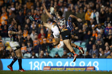 Lachlan Coote NRL Rd 10 - Tigers vs. Cowboys