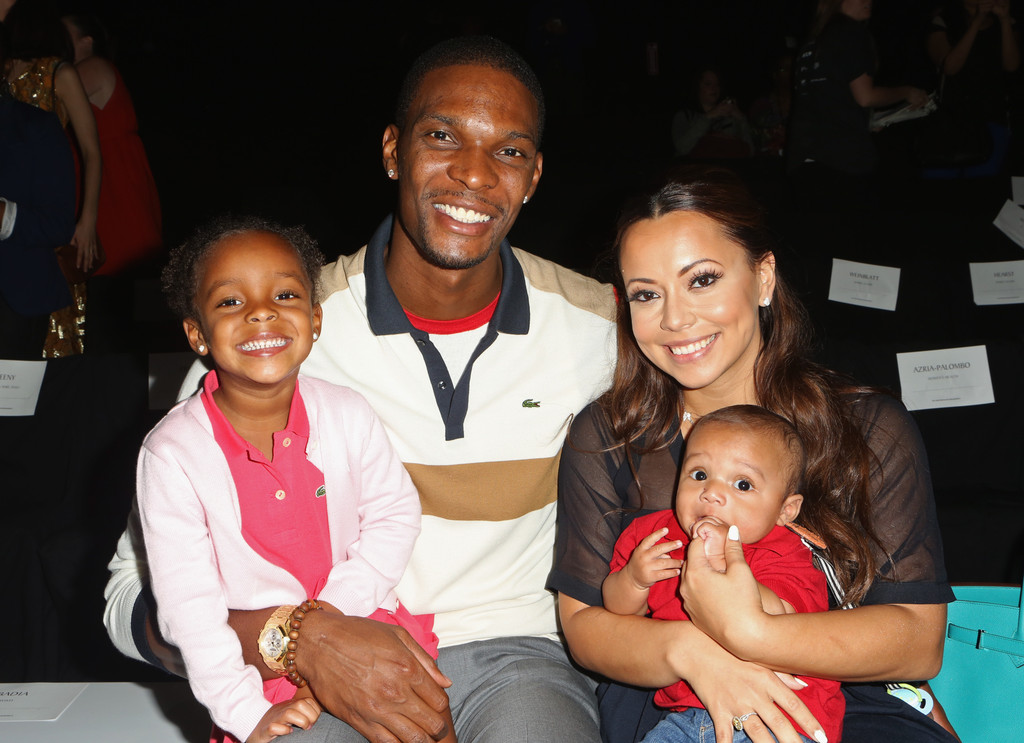 chris bosh in lacoste front row spring 2013 mercedes