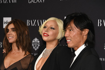 Lady Gaga Samsung GALAXY At Harper's BAZAAR Celebrates Icons By Carine Roitfeld