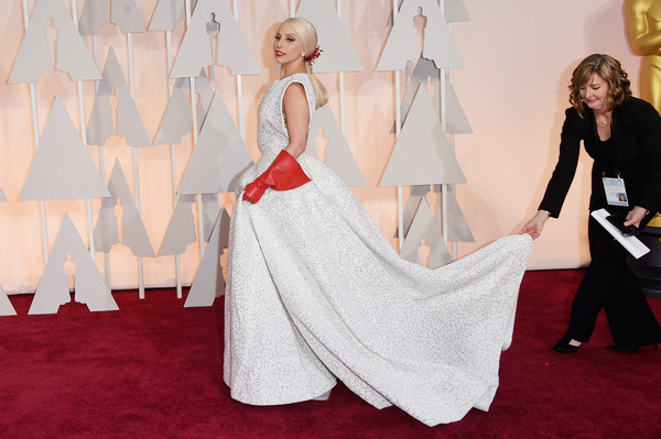 Lady Gaga - Arrivals at the 87th Annual Academy Awards — Part 3