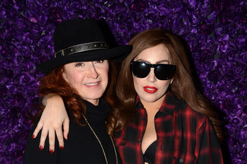 Lady Gaga Backstage at Lady Gaga's Concert