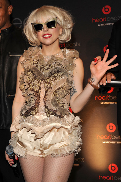 Heartbeats By Lady Gaga Headphones Unveiling