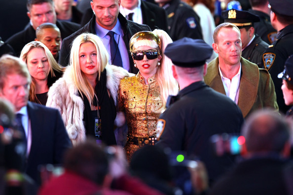 Lady Gaga Recording artist Lady Gaga attends New Year's Eve 2012 in Times Square on December 31, 2011 in New York City.