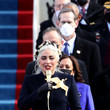 Lady Gaga Joe Biden Sworn In As 46th President Of The United States At U.S. Capitol Inauguration Ceremony