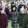 Lady Louise Windsor Members of the Royal Family Attend St Mary Magdalene Church in Sandringham