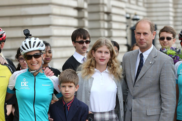 Lady Louise Windsor The Countess Of Wessex - Diamond Challenge