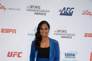 Laila Ali 4th Annual Sports Humanitarian Awards - Arrivals