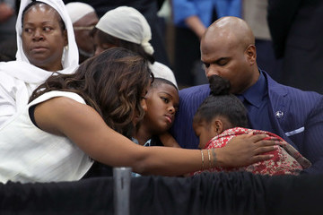 Laila Ali Islamic Funeral Prayer Program Held For Muhammad Ali In Louisville