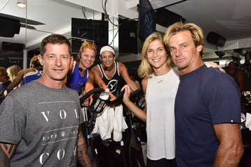 Laird Hamilton Flywheel VIP Ride With Special Guests Laird Hamilton And Gabrielle Reece Led By Ruth Zukerman And Holly Rilinger - 8.8.16, East Hampton, NY