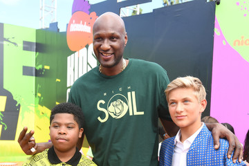 Lamar Odom Nickelodeon Kids' Choice Sports Awards 2017 - Red Carpet