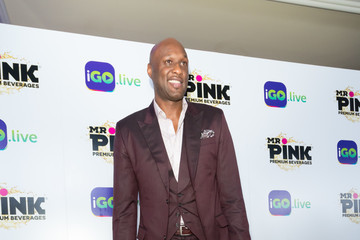 Lamar Odom iGo.live Launch Event - Arrivals