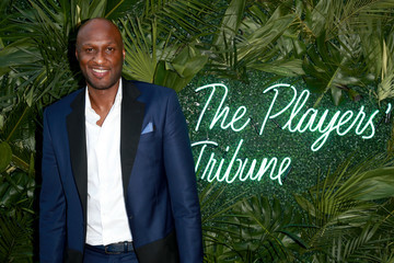 Lamar Odom The Players' Tribune Hosts Players' Night Out 2017