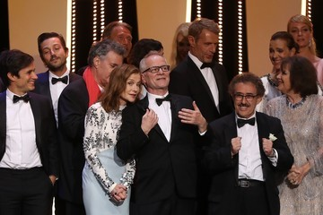 Lambert Wilson 70th Anniversary Ceremony - The 70th Annual Cannes Film Festival